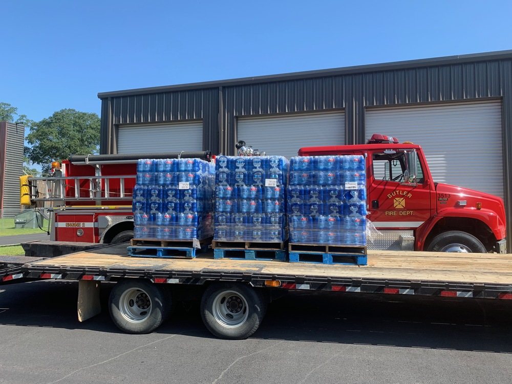 Donation by the Butler Fire Department
