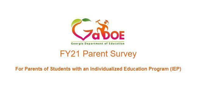 GA DOE Parent Survey IEP
