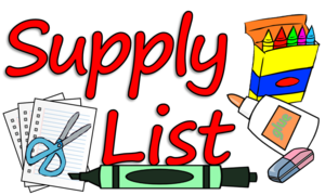TCHS Supply List 2020-2021